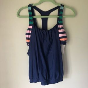 Next Athletic Top With Built In Sports Bra